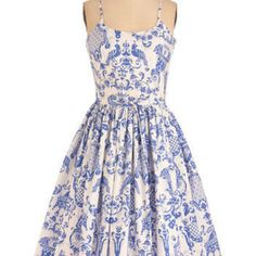 Bernie Dexter Two if by Tea Dress | Mod Retro Vintage Dresses | ModCloth.com