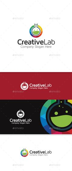 Creative Lab Logo Design Template Vector #logotype Download it here: http://graphicriver.net/item/creative-lab/11061350?s_rank=1056?ref=nesto