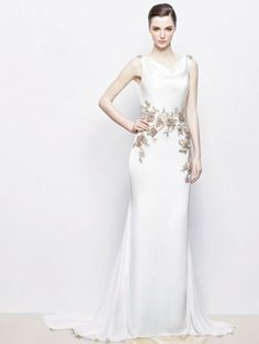 Art Deco Style Wedding Dress