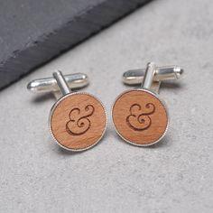 ampersand cufflinks by maria allen boutique   notonthehighstreet.com