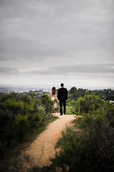 Engagement session in Griffith Park