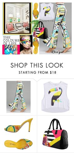 """""""Rosegal-Geometric"""" by elza-345 ❤ liked on Polyvore featuring Rodo"""