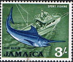 Jamaica 1964 Sport Fishing Fine Mint SG Scott 229 Other West Indies and British Commonwealth Stamps HERE!