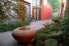 Maggie's Centre - Dan Pearson  the perfect balance of smooth/colorful with rich textural green.