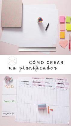 Cómo planificar tus proyectos creativos #DIY #Planificador #emprendedores