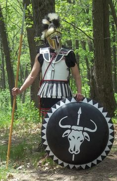 Corinthian Hoplite by WestytheTraveler.deviantart.com on @DeviantArt