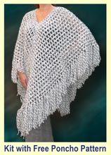 Free Crochet Poncho Patterns - Easy Crochet Patterns