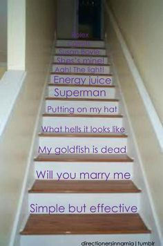 Countless memories of the quotes from the video diaries. <3 One Direction
