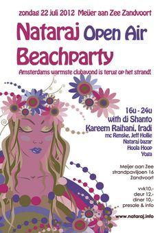 Nataraj Beachparty zondag 22 juli