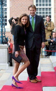 Prince Floris and Princess Aimee of Orange-Nassau, van Vollenhoven