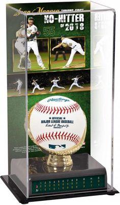 1a834ae56e3 Sean Manaea Oakland Athletics 2018 No-Hitter Sublimated Display Case with  Image