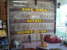 Book week 2009.  Book Safari library display