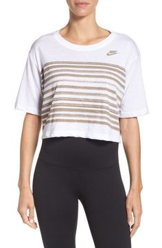 Nordstrom X Nike Collection Women s Nike Sportswear Cropped Tee NWT d91dc8c78