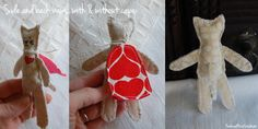 kitty with cape by feathered nest studio Printing On Fabric, Nest, Cape, Congratulations, Competition, Kitty, Christmas Ornaments, Studio, Sewing