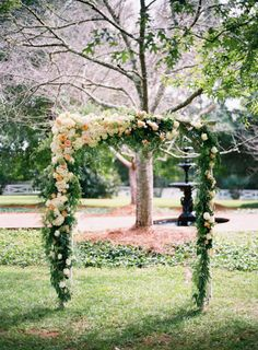 Garden Romance: http://www.stylemepretty.com/2015/07/17/26-floral-arches-that-will-make-you-say-i-do/