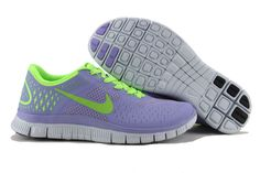 on sale 6838c 23651 Nike Free 4.0 V2 Violet Electric Green  NFR4W11  -  79.00   Nike Free Run