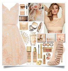 """Natural, Nude, Golden"" by angelstylee ❤ liked on Polyvore featuring Cultural Intrigue, Yves Saint Laurent, Dolce&Gabbana, Bobbi Brown Cosmetics, Cartier, Infinique, By Terry, Estée Lauder, natural and nude"