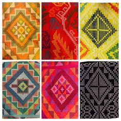 Textile Tribes of the Philippines: Yakan Weaving, Weddings and Wears - Haute Culture Textile Tours Filipino Art, Filipino Tribal, Filipino Culture, Filipino Tattoos, Indian Tattoos, Ethnic Patterns, Weaving Patterns, Textile Patterns, Print Patterns