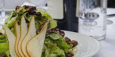 Para un gusto elegante y ligero, una ensalada de pera con lechuga,. Maridando con un Sauvignon Blanc,  o un Pinot  Grigio.