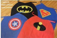Some time ago we had a seamless cape mission to perform in one of the creative Kids Tiniloo boxes. Superhero Classroom, Superhero Capes, Cape Tutorial, Diy Cape, Silly Gifts, Costumes Couture, Leo Birthday, Carrie, Couture Sewing