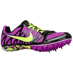 My track spikes!