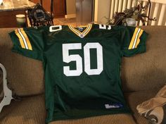 Green Bay  Packers Aj Hawk  NFL  Football On Field Jersey Shirt Uniform  Size Xlarge from  40.0 1a376335d