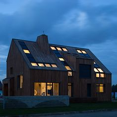 Russias First Active House - VELUX cases