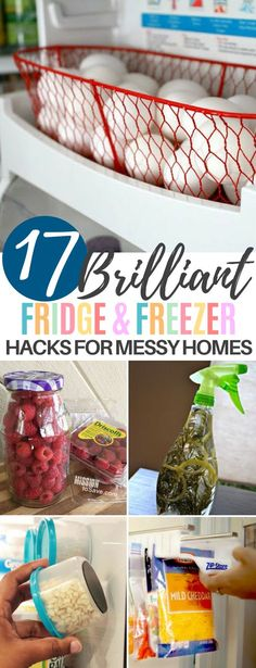 and Freezer Hacks That'll Organize Your Kitchen These 17 Fridge and Freezer Hacks Will Teach You To Easily Keep Your Kitchen Clean at all Times!These 17 Fridge and Freezer Hacks Will Teach You To Easily Keep Your Kitchen Clean at all Times! Diy Hanging Shelves, Floating Shelves Diy, Rope Shelves, Pot Mason Diy, Mason Jars, Diy Home Decor Projects, Home Improvement Projects, All You Need Is, Freezer Hacks