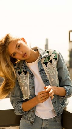 Romee Strijd, Dutch model, blonde, 720x1280 wallpaper