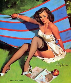 "Gil Elvgren - ""Real Swinger"" 1965 [502]"