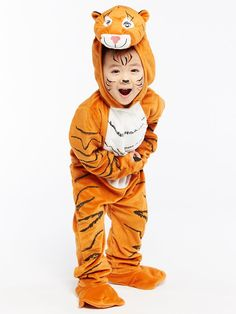 The Tiger Who Came To Tea - Kid's Fancy Dress Costume - yrs