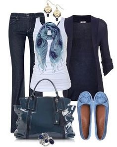 Blaues Outfit - New Ideas Mode Outfits, Fashion Outfits, Womens Fashion, Ladies Fashion, Fashion 2017, Fashion Ideas, Fashion Inspiration, Skirt Outfits, Fashion Styles