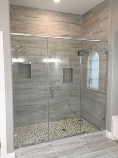 Bathroom decor for your master bathroom renovation. Discover master bathroom organization, master bathroom decor tips, master bathroom tile ideas, bathroom paint colors, and more. Modern Bathroom Design, Bathroom Interior Design, Home Interior, Interior Decorating, Decorating Ideas, Decorating Bedrooms, Bath Design, Interior Ideas, Bathroom Renos