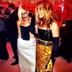 Beyoncé n Gwen Stefany #BeyonceMETGala