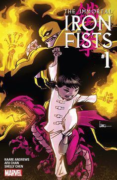 Kaare Andrews And Afu Chan's Immortal Iron Fists, With 6-Year-Old Female Iron Fist, Available Now