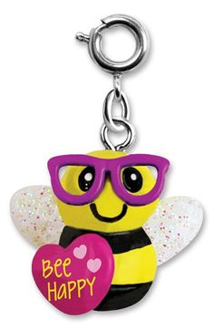 CHARM IT!® 'Bee Happy' Charm (Girls) available at #Nordstrom