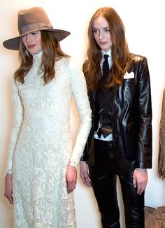 Ralph Lauren Fall 2015 backstage