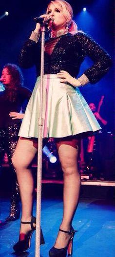 Meghan Trainor.....love those heels too!