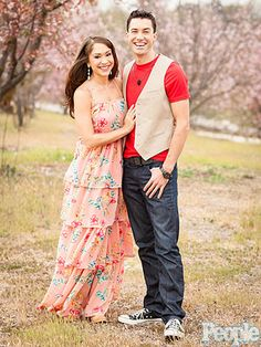 Ace Young, Diana DeGarmo Engagement Photos Finally Taken : People.com