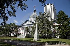 Historic Florida Capital in Tallahassee by Todd Taulman, via Dreamstime
