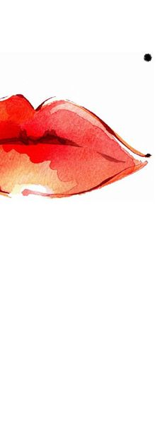 lips - love the simplicity and impact of this illustration.