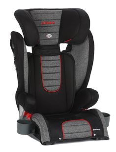 Diono Monterey Highback Booster Seat-Heather. Fits children 40 pounds to 120 pounds and 38 inch to 63 inch in height. Extra-deep side walls are reinforced with aluminum and lined with EPS foam for superior side impact protection. Energy absorbing AirTekTM foam provides superior cushioning and increased airflow for comfortable ride. Latch system for secure installation (Latch use not required). Retractable cup holders are extra deep to keep drinks upright.