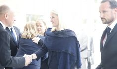 Crown Prince Couple of Norway visited the families of accident victims