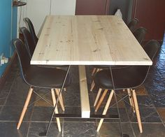 Make your own dining table