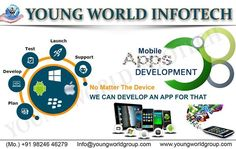Mobile apps development company visit : www.youngworldgroup.com