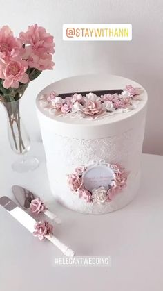 Card Box Wedding from StayWithAnn Available to order on the website STAYWITHANN.COM