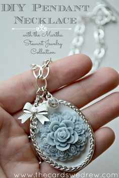 A necklace pendant is an easy way to change up your jewelry and your??look without a whole lot of effort, and??some are pretty simple to make.