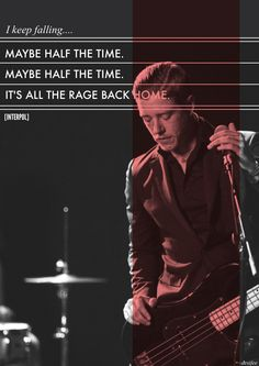 Interpol - All the Rage Back Home. El Pintor!
