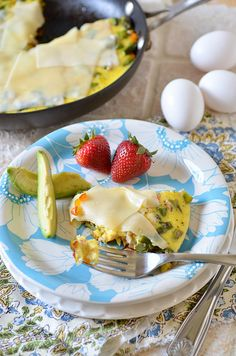 swiss veggie frittata by Pennies on a Platter, via Flickr