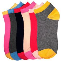 Women's (12 Pairs) Low Cut Patterned Socks - HT Nvie Basics. $12.99. Save 28% Off!